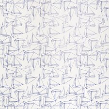 <strong>Kimberly Lewis Home</strong> Set Sail Geometric Wallpaper