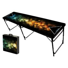 Bubbles Folding and Portable Beer Pong Table