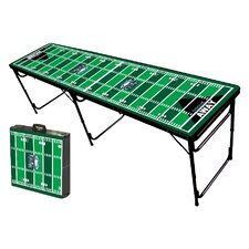 Football Field Folding and Portable Beer Pong Table