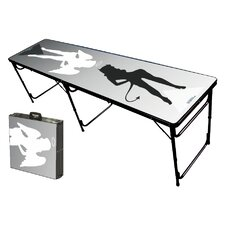 Good N Bad Folding and Portable Beer Pong Table