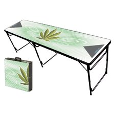 High Times Folding and Portable Beer Pong Table