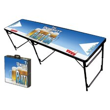 Party Pong University Folding and Portable Beer Pong Table