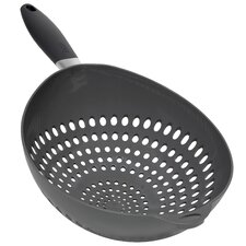 Colander with Gray Handle