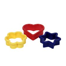 3 Piece Cookie Cutter Set