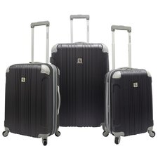 Malibu Hardsided 3 Piece Spinner Luggage Set