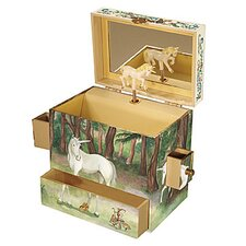 Unicorn Treasure Music Box