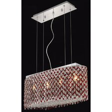 <strong>Elegant Lighting</strong> Moda 4 Light Pendant