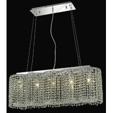 <strong>Elegant Lighting</strong> Moda 5 Light Pendant