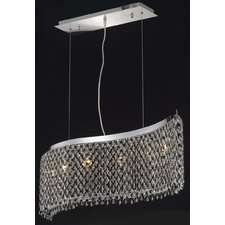 <strong>Elegant Lighting</strong> Moda 6 Light Pendant