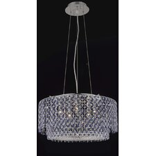 <strong>Elegant Lighting</strong> Moda 5 Light Drum Pendant