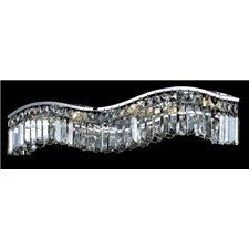 <strong>Elegant Lighting</strong> Contour 6 Light Wall Sconce