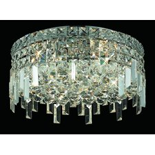 "<strong>Elegant Lighting</strong> Maxim 5 Light 18"" Semi Flush Mount"