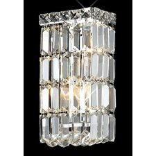 <strong>Elegant Lighting</strong> Maxim 2 Light Wall Sconce