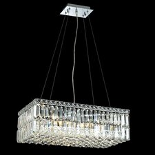 Maxim 6 Light  Chandelier