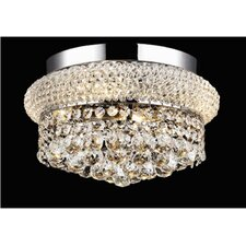 <strong>Elegant Lighting</strong> Primo 4 Light Semi Flush Mount