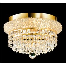 <strong>Elegant Lighting</strong> Primo 4 Light Flush Mount