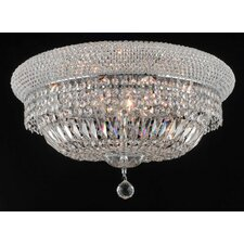 <strong>Elegant Lighting</strong> Primo 10 Light Flush Mount