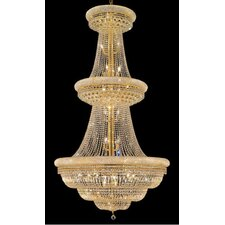 <strong>Elegant Lighting</strong> Primo 38 Light  Chandelier