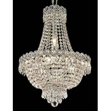 Century 8 Light Chandelier with Crystal