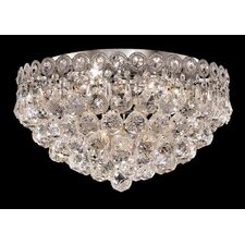 "<strong>Elegant Lighting</strong> Century 4 Light 16"" Flush Mount"