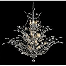 <strong>Elegant Lighting</strong> Orchid 18 Light  Chandelier