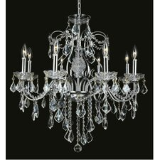 <strong>Elegant Lighting</strong> St. Francis 8 Light Chandelier