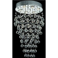 "Galaxy 6 Light 20"" Semi Flush Mount"