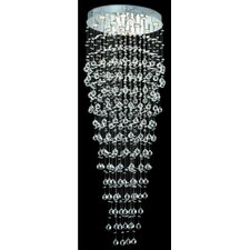 <strong>Elegant Lighting</strong> Galaxy 12 Light Large Semi Flush Mount