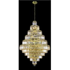 <strong>Elegant Lighting</strong> Maxim 30 Light Chandelier
