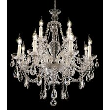<strong>Elegant Lighting</strong> Alexandria 12 Light Chandelier