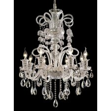 <strong>Elegant Lighting</strong> Elizabeth 8 Light Chandelier