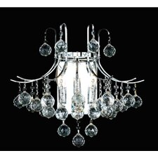 <strong>Elegant Lighting</strong> Toureg 3 Light Wall Sconce