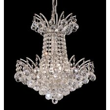<strong>Elegant Lighting</strong> Victoria 4 Light Chandelier