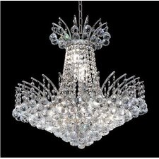 <strong>Elegant Lighting</strong> Victoria 8 Light Chandelier