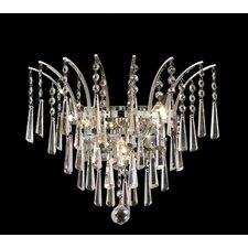 <strong>Elegant Lighting</strong> Victoria 3 Light Wall Sconce
