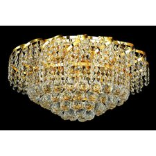 <strong>Elegant Lighting</strong> Belenus 8 Light Flush Mount
