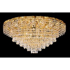 <strong>Elegant Lighting</strong> Belenus 18 Light Flush Mount