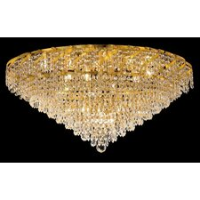 <strong>Elegant Lighting</strong> Belenus 21 Light Flush Mount