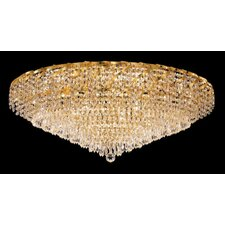 <strong>Elegant Lighting</strong> Belenus 28 Light Flush Mount