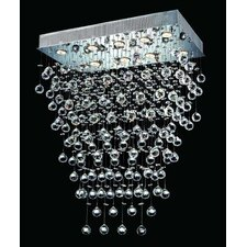 Galaxy 10 Light LED  Chandelier