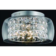<strong>Elegant Lighting</strong> Apollo 12 Light Semi Flush Mount