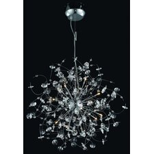<strong>Elegant Lighting</strong> Iris 16 Light Pendant