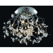 Iris 9 Light Ceiling / Semi Flush Mount