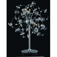 Iris 6 Light Table Lamp