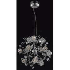 <strong>Elegant Lighting</strong> Iris 12 Light Pendant
