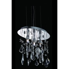 <strong>Elegant Lighting</strong> Mirage 3 Light Pendant