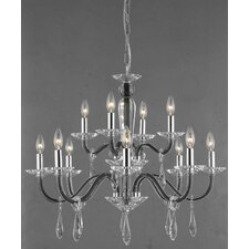 <strong>Elegant Lighting</strong> Avalon 12 Light  Chandelier