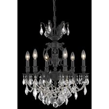 <strong>Elegant Lighting</strong> Marseille 6 Light  Chandelier