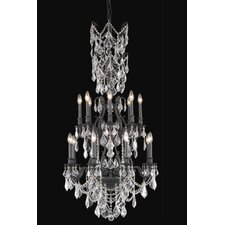 <strong>Elegant Lighting</strong> Monarch 16 Light Chandelier