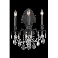 Monarch 3 Light Wall Sconce